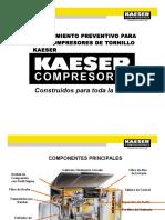 As - Mantenimiento Preventivo de Compresor Kaeser