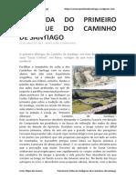 A Lenda Do Primeiro Albergue Do Caminho de Santiago - Artur Filipe Dos Santos