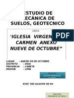Informe de Suelos Geotecnico Mala 01