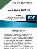 1. Introducción - Estructura Atómica