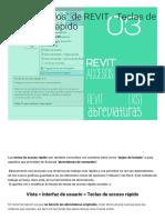 Comandos_ de REVIT - Teclas de Acceso Rápido