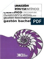 Bachelard La Formacion Del Espiritu Cientifico 2
