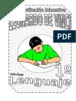 LENGUAJE - 1ERO