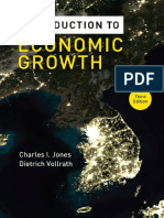 Introduction to Economic Growth, 3rd Edition (Charles I. Jones and Dietrich Vollrath)