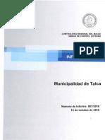 INFORME MUNICIPALIDAD DE TALCA