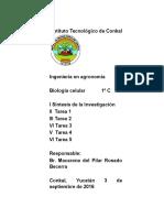 BIOLOGIA CELULAR - Celula Procariota (Autoguardado)