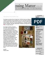 DVC-GBW Spring 2016 Newsletter