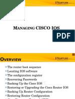 6.Managing C IOS