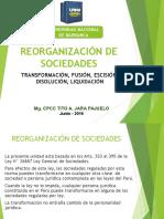 Reorganizacion de Sociedades UNAB 2016.ppt