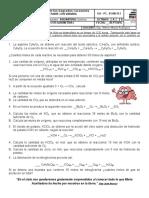 Cálculos Estequiometricos Grados 8