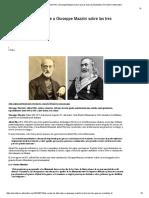 Las Cartas de Albert Pike a Giuseppe Mazzini Sobre Las Tres Guerras Mundiales _ Periodismo Alternativo