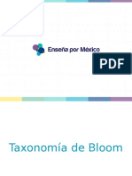 PPT Taxonomía Bloom
