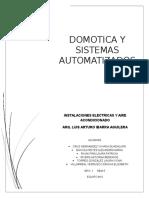 Domotica y Sistemas Automatizados
