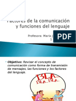 Factores y Funciones