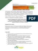 D.P.r-f.E.S 027 Comités Paritarios