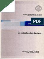 Informe Municipalidad de Iquique- Auditoría Al Gasto en Periodo Electoral