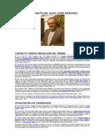 Asesinato de Juan José Gerardi