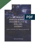 EL NUEVO DEBATE SOBRE EL DESARROLLO Y EL ROL DEL ESTADO