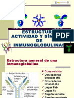 Estructura de Las Inmunoglobulinas