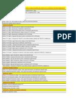 Listado Parcial de Mano de Obra de Las Instalaciones Eléctricas