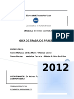 Guia de Trabajos Practicos / Sistemas Contables