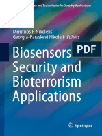 (Advanced Sciences and Technologies for Security Applications) Dimitrios P. Nikolelis, Georgia-Paraskevi Nikoleli (Eds.)-Biosensors for Security and Bioterrorism Applications-Springer International Pu