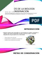 Principios de La Biología de La Conservación