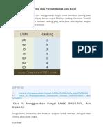 Fungsi Excel Dalam Pembuatan Laporan Hasil Belajar