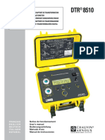 AEMC DTR8510 Manual Español