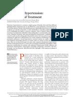 Hipertension Pulmonar Dx y Tto