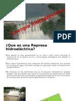 Energia Hidroelectricas