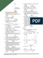 Matematika UTS IX K2013