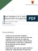 Bases Biológicas de las Adicciones 2016