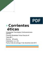 Corrientes Éticas Resumen