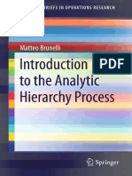 2 Introduction to the Analytic Hierarchy Process [Matteo Brunelli 2015] (1)