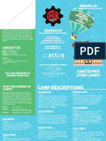 Geering Up Camps Brochure