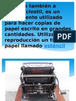 el mimeografo y el teclado .pptx