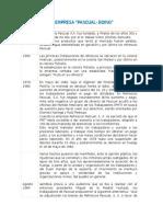 Historia de La Empresa Pascual