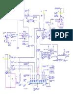 Piping Instrument Diagram of Boiler-Model