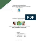 Ensayo Científico -Factores y Elementos Ambientales