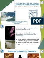 ANÁLISIS DE LA CALIDAD BACTERIOLÓGICA DEL AGUA EN EL DISTRITO DE RIEGO 023, SAN JUAN DEL RÍO, QUERÉTARO