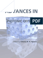 Advances Photonic Crystals
