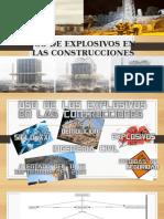 Uso de los explosivos en las construcciones