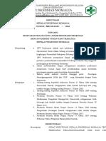 2.3.1.2 SK Kepala Puskesmas Tentang Penetapan Penanggung Jawab Program Puskesmas