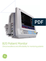 B20 Patient Monitor Brochure