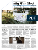 The Daily Tar Heel for Oct. 19, 2016