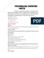 Interesting Christian Facts