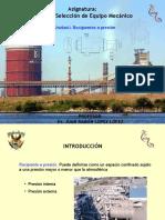 Unidad I Diseño de Recipientes a Presion(2015)