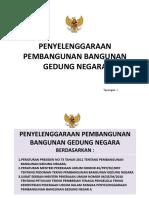 Penyelenggaraan Pembangunan Bangunan Gedung Negara