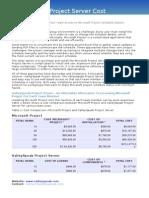 ValleySpeak Project Server cost advantages